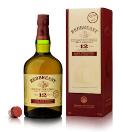 Irish Distillers - Redbreast Adds First Cask Strength Expression to its Reputed Range - 22nd September, 2011