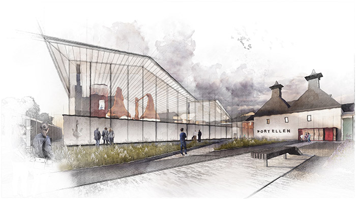Legacy of heritage and innovation celebrated in thrilling Port Ellen Scotch Whisky distillery plans