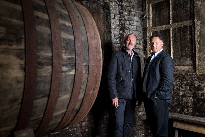 Rare Whisky 101 co-founders Andy Simpson and David Robertson