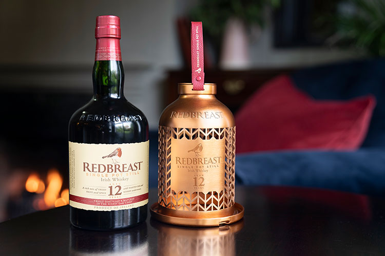 Redbreast launches limited-edition bird feeder in time for winter. Raising funds to support birdlife international*