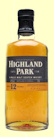 Highland Park 12 Year Old Single Malt Whisky - Flat Bottle
