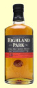 A bottle of Highland Park 18 Year Old Single Malt Whisky