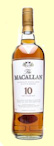 Macallan 10 Year Old Single Malt Whisky - Sherry Oak