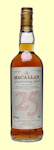 Macallan 1964 25 Year Old Single Malt Whisky