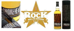 Smokehead at the Classic Rock Roll of Honour Awards