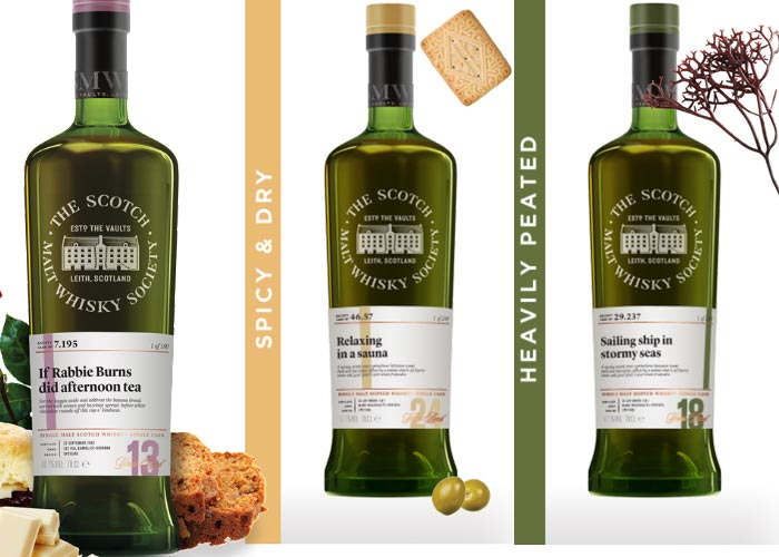 Burns Night 2018 with SMWS whisky: 11th January, 2018