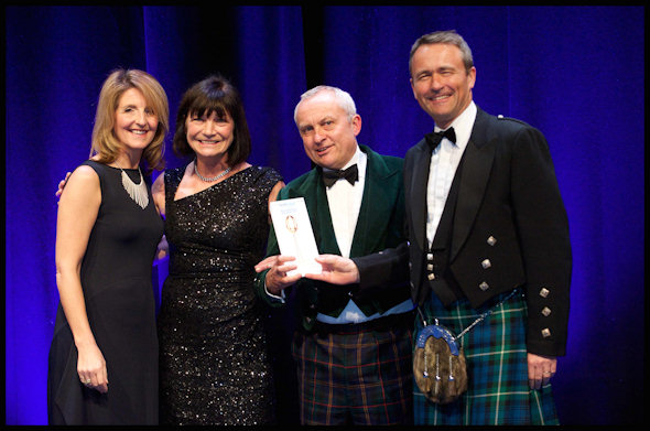 Spencerfield Spirit Shine at the Scotland Food & Drink Excellence Awards 2014 - 24th May, 2014