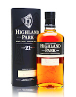Highland Park 21 Year Old Single Malt Whisky