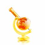 Stylish Whisky Miniature Globe Highland Malt Whisky