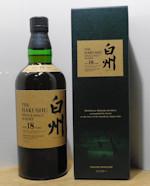 Hakushu 18 Year Old Single Malt Japanese Whisky