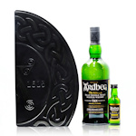Ardbeg 10 Years Old 70cl and Uigeadail Miniature Gift Tin