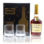 Hennessy Very Special Cognac and 2 Glasses Giftset