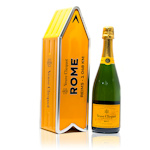 Veuve Clicquot Yellow Label Rome Arrow Brut Champagne