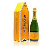 Veuve Clicquot Yellow Label Moscow Arrow Brut Champagne