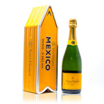 Veuve Clicquot Yellow Label Mexico Arrow Brut Champagne