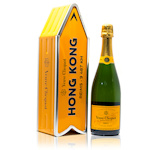 Veuve Clicquot Yellow Label Hong Kong Arrow Brut Champagne