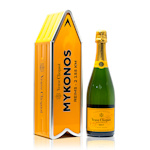 Veuve Clicquot Yellow Label Mykonos Arrow Brut Champagne