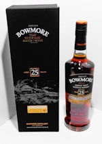 Bowmore 25 Years Old Small Batch Release Islay Single Malt Whisky