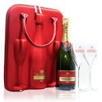 Piper-Heidsieck Brut Champagne Gift Case with Glasses