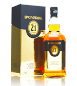 Springbank 21 Years Old Campbeltown Single Malt Scotch Whisky