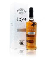 Bowmore Mizunara Cask Finish Very Limited Release Islay Single Malt Whisky
