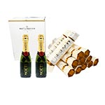 Moet & Chandon Imperial Brut Limited Edition Crackers Boxset