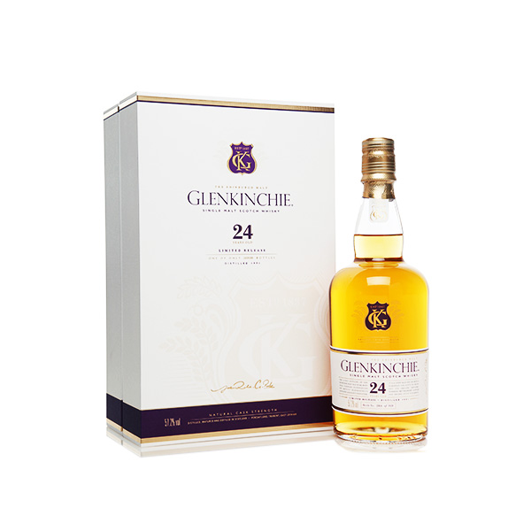 Glenkinchie 24 Years Old Single Malt Scotch Whisky