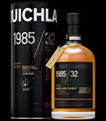 Bruichladdich 1985 / 32 Bourbon: Hidden Glory Single Malt Whisky