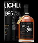 Bruichladdich 1986 / 30 Sherry: The Magnificant Seven Single Malt Whisky