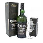 Ardbeg 10 Year Old with Tasting Glass Gift Set Islay Single Malt Scotch Whisky