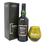 Ardbeg Uigeadail with Glass Tumbler Gift Set Islay Single Malt Scotch Whisky