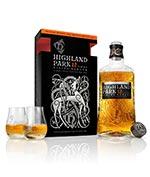 Highland Park 12 Year Old Viking Honour Glassware Gift Set Single Malt Whisky