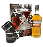 Auchentoshan American Oak Single Malt Scotch Whisky 2 x Cup Gift Set