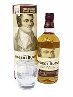 Robert Burns Single Malt Scotch Whisky Tasting Glass set