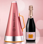 Veuve Clicquot Rose Scream Your Love Megaphone Ice Bucket