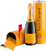 Veuve Clicquot Yellow Label Brut Mailbox