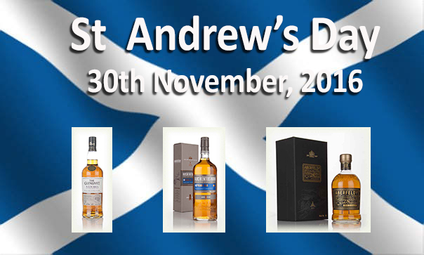 Whisky and St Andrew's Day :: 30th November, 2016 :: Which whisky should I have on this special day?