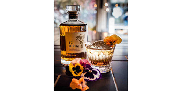 Suntory Japanese Whisky celebrates Sakura in London :: Chotto Matte serves exclusive Hibiki Cherry Blossom cocktail :: 6th May, 2015