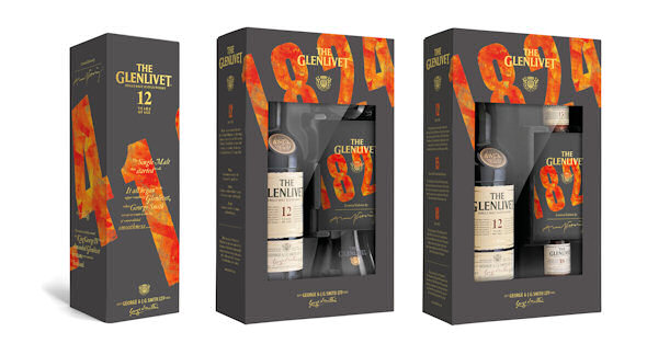 The Glenlivet 12 Year Old Launches New Limited Edition Gift Packs For Christmas | 10th December, 2014