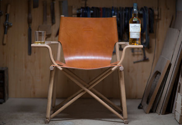 The Glenlivet Nàdurra Unveils Hand-Crafted Dram Chair By Award-Winning Designer Gareth Neal | 16th October, 2014