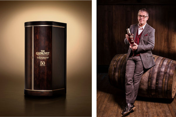 Alan Winchester and The Glenlivet Winchester Collection Vintage 1966