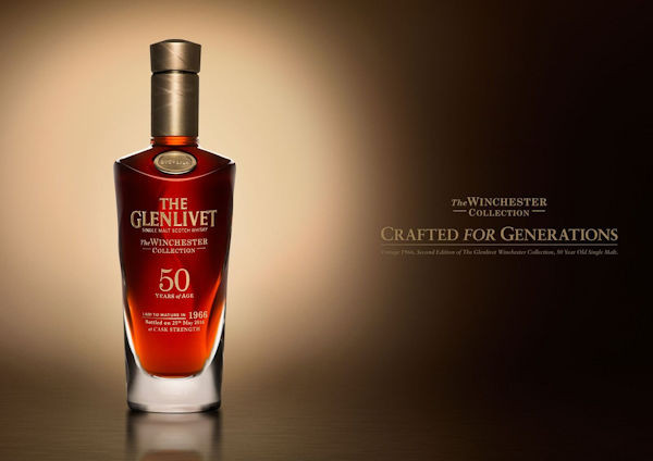 The Glenlivet Launches Liquid History: Introducing The Glenlivet Winchester Collection Vintage 1966 :: 30th September, 2016