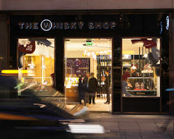 The Whisky Shop Opening in London