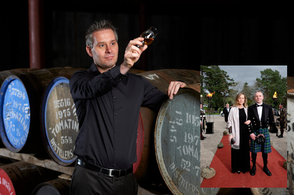 Tomatin Distillery Boss Joins Host Of Celebrities As He Is Named Keeper Of The Quaich