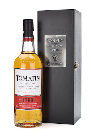 Tomatin 1988 Vintage | Comments and Tasting Notes