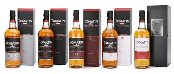 Tomatin Distillery Core Range April 2014