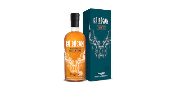 Cu bocan Single Malt Scotch Whisky. A Limited Virgin Oak Edition