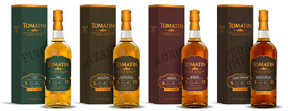 Tomatin Distillery New Limited Releases | Cuatro Series | 3rd September, 2014