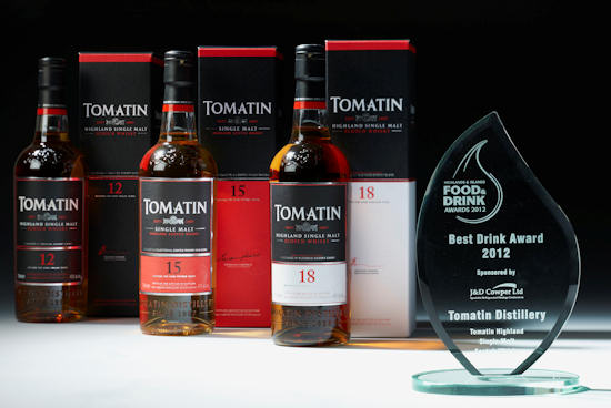 Tomatin Food and Drink Award 2012 - Highland and Islands
