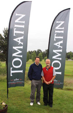 Tomatin distillery sponsors Scottish nine-hole open - 5th June 2013